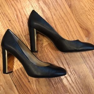 Banana Republic Black Heels Pumps Shoes Size 9.5